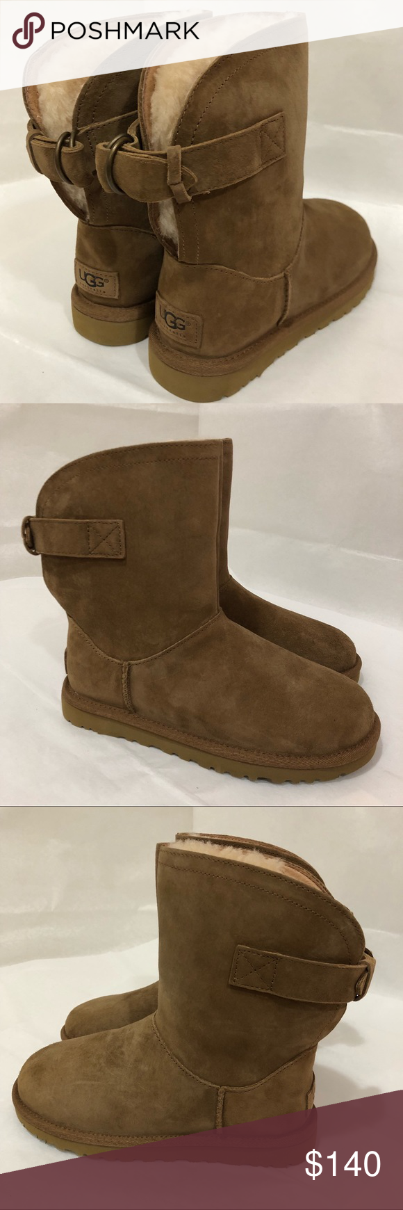 cde5a7d6b94 UGG Remora Water Resistant Booties Size 5 DESCRIPTION Pull on these ...