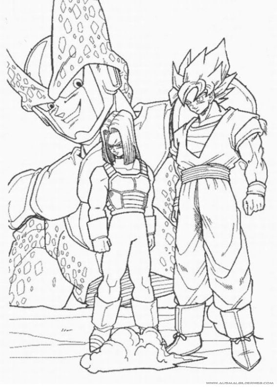 Ausmalbilder Dragon Ball_11.jpg | Ausmalbilder Dragon Ball ...