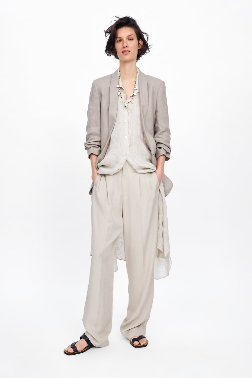 37ade8aaee Linen blazer with pockets in 2019 | My Style...Pure Me! | Linen ...