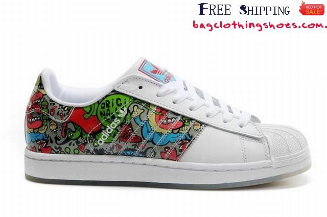 scarpe adidas superstar graffiti