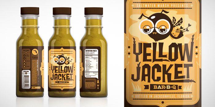 YellowJacket - The Dieline -