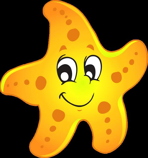 Cartoon Starfish Png Starfish Transparent Png Image Cartoon Starfish Cartoon Sea Animals Under The Sea Clipart