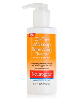 Neutrogena Oil Free Makeup Removing Cleanser For Acne Prone Skin A Well Formulated C Drugstore Face Cleansers Makeup Removing Cleanser Skincare For Oily Skin
