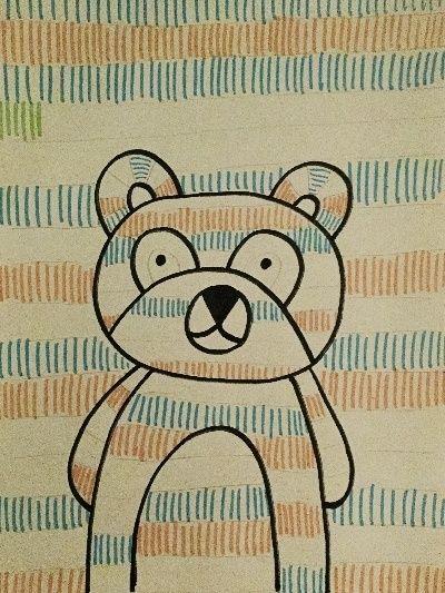 graphisme tekenen met figuren in kleurplaten met