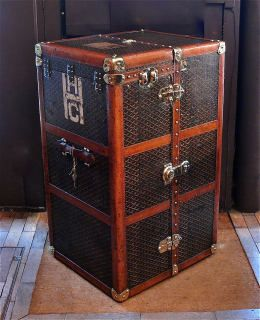vintage Goyard luggage