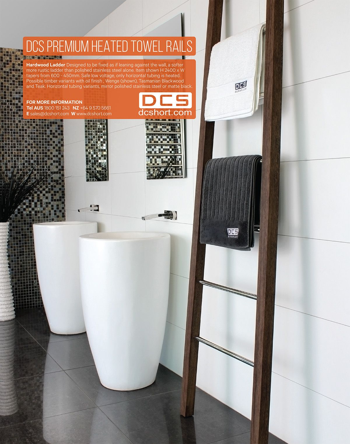 Grand Designs, Sep 2015 - DCS Heated Towel Rails. | DCS Magazine ads ...