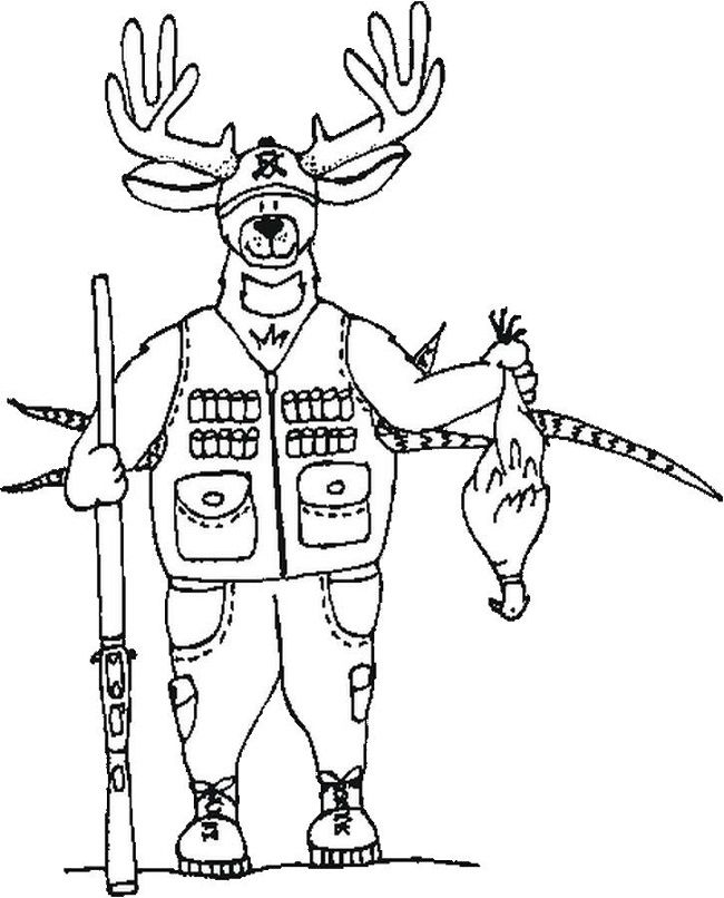 Deer Hunting Coloring Pages Deer Coloring Pages Spiderman Coloring Monster Truck Coloring Pages
