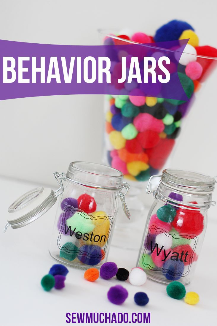 Behavior Reward Jars For Kids Reward The Positive Positivereinforcement Craft Diy Kids Sewmuchado Cricu Kids Behavior Kids Rewards Valentines For Kids