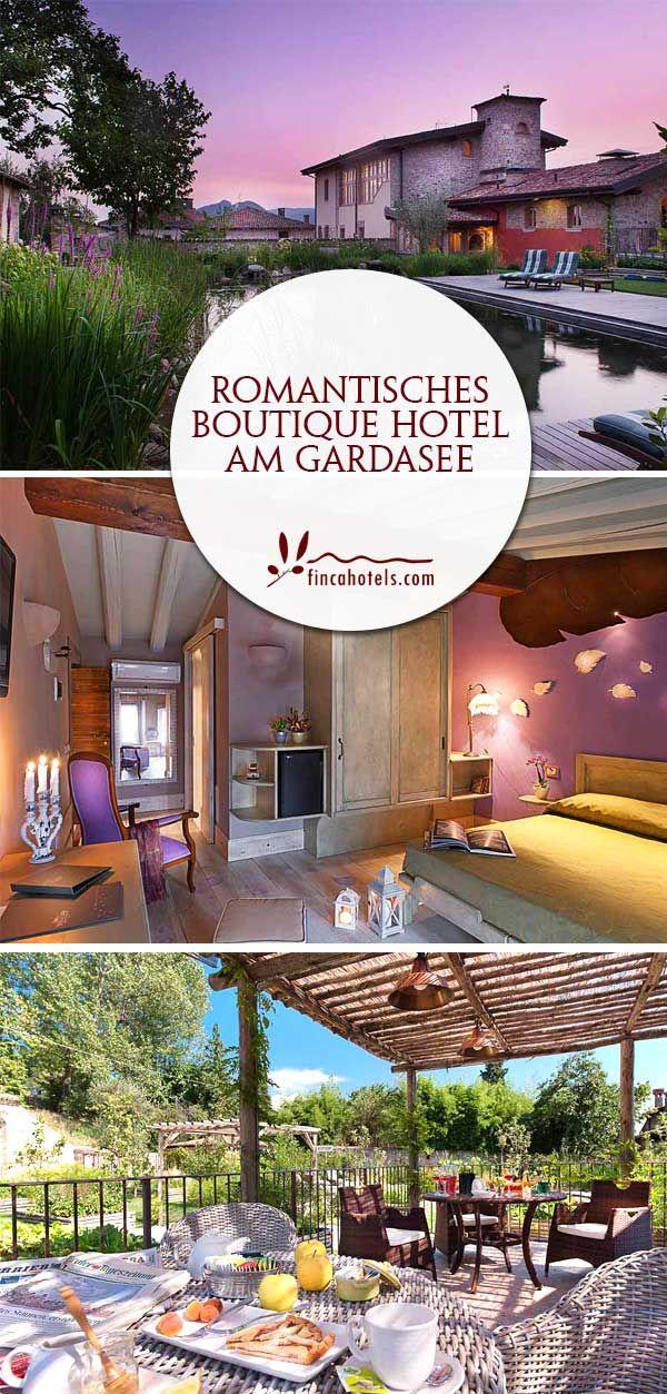 Wunderschönes Romantisches Boutique Hotel Am Gardasee In Italien