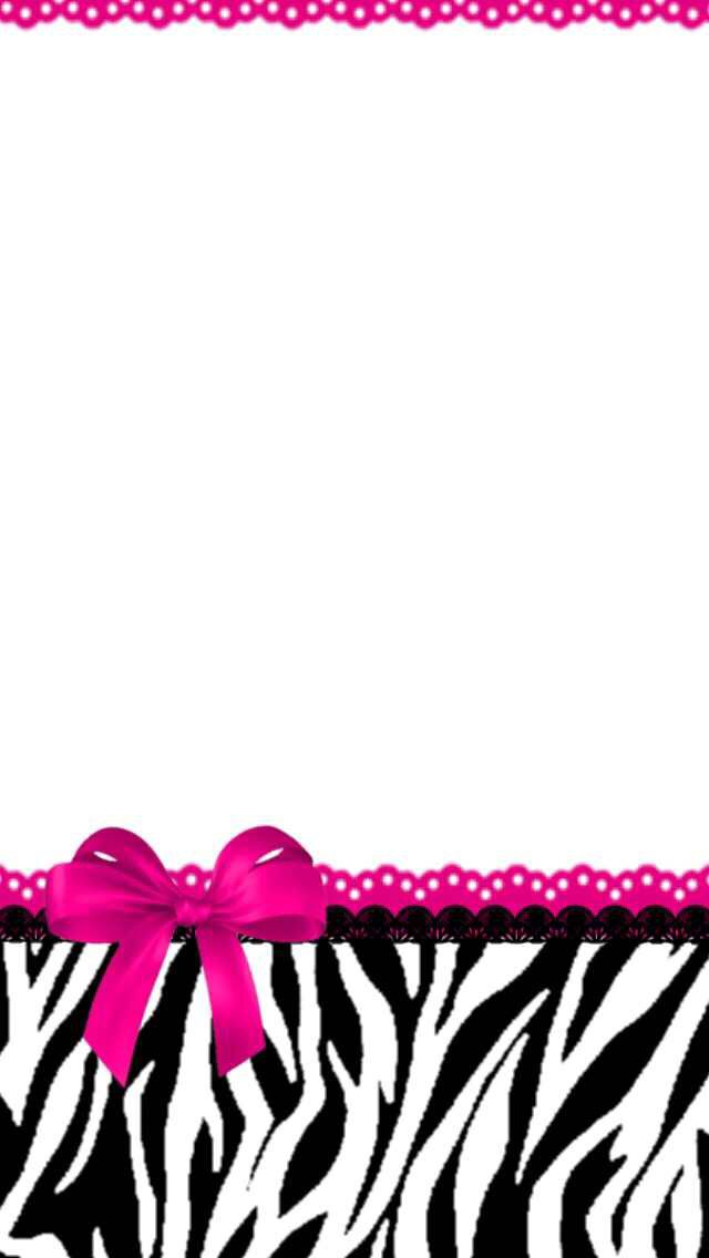 Animal print pink lace and bows in 2019 pretty phone - Pink animal print wallpaper ...