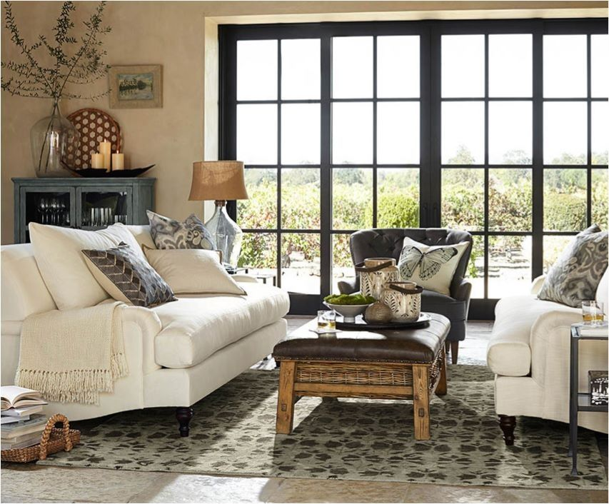 Pottery Barn Living Room Orchard House Living Room