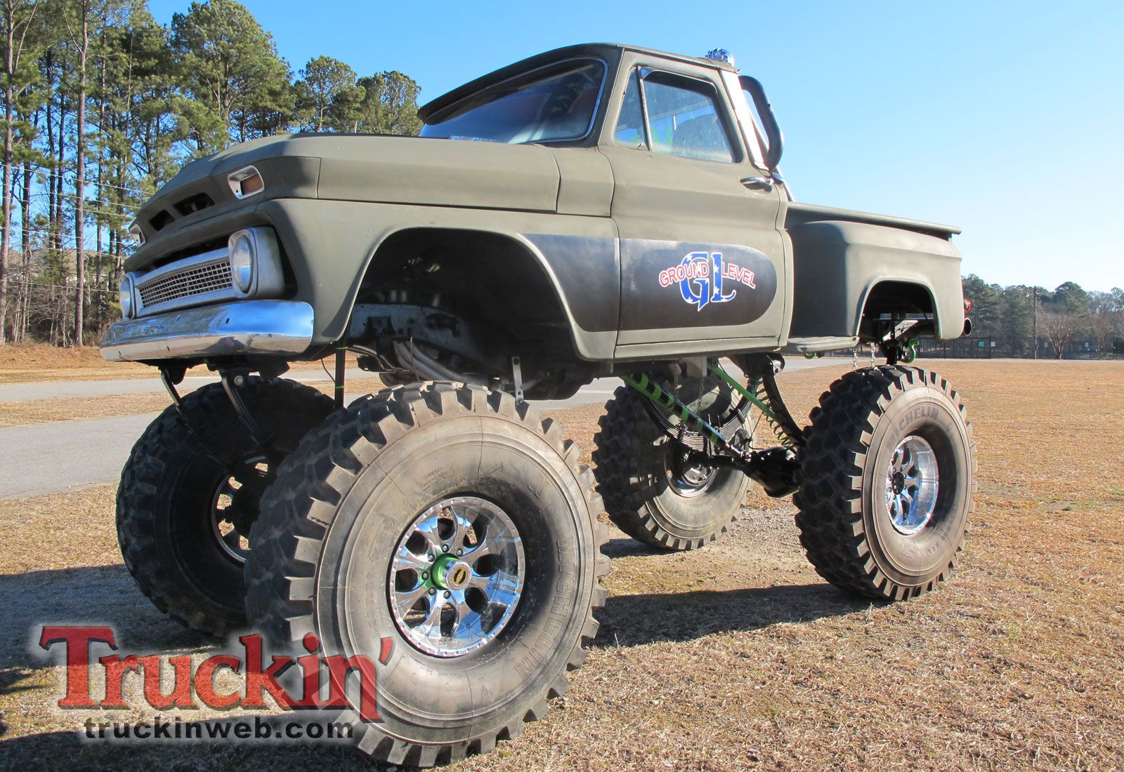 Truck 1963 chevy panel truck for sale : 60-66 Chevy And GMC 4X4's Gone Wild - Page 8 - The 1947 - Present ...