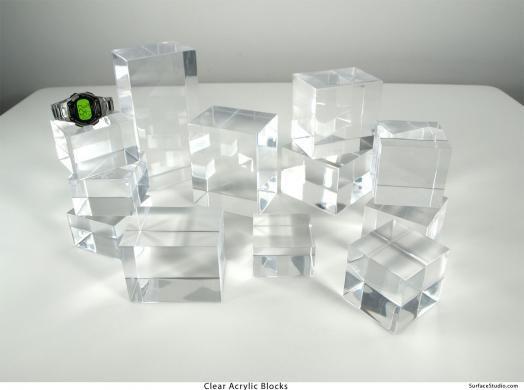 Surface Studio | Clear Acrylic Blocks (12) $28 to $55