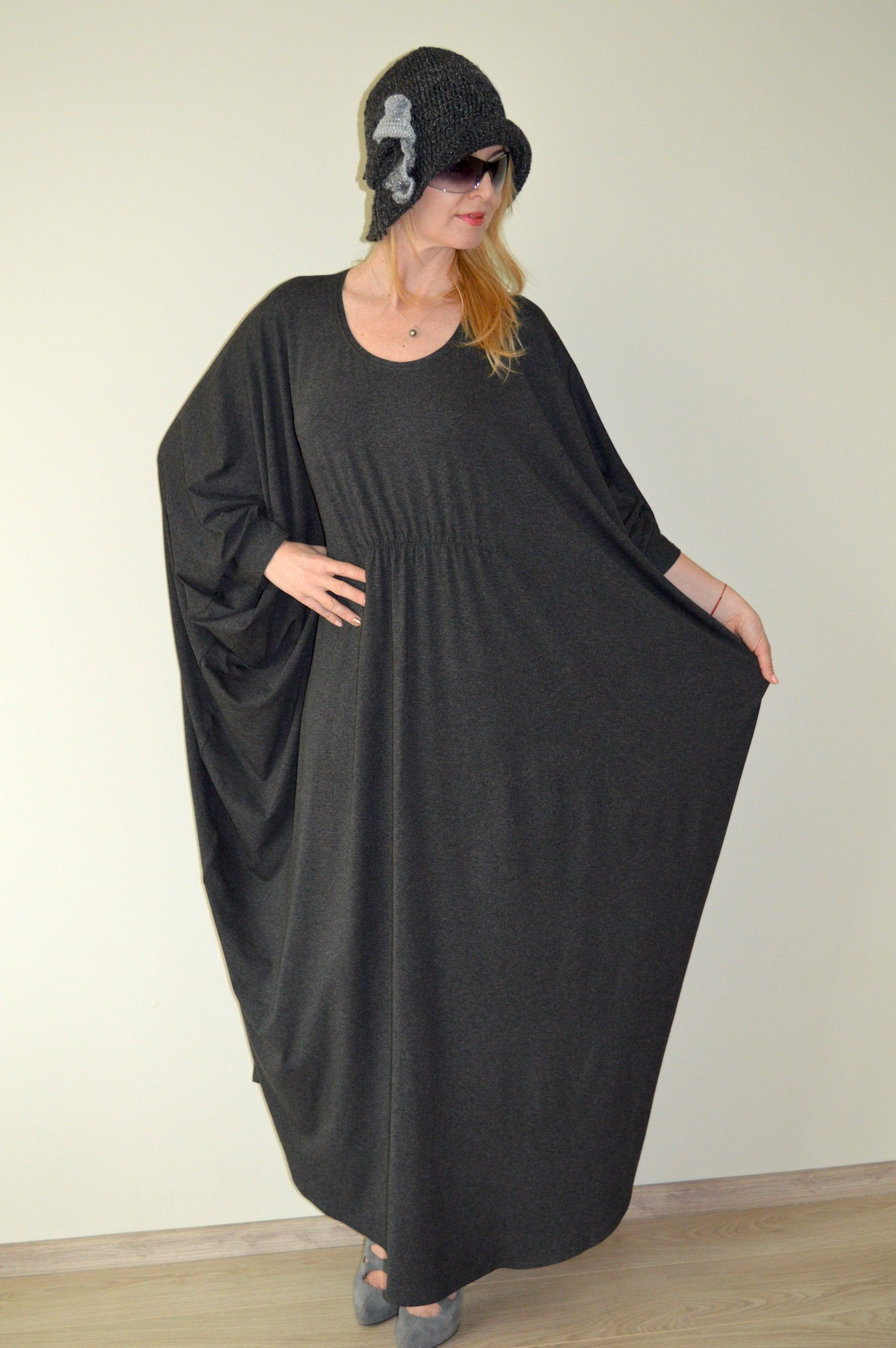 Abaya Dress/ Elegant Kaftan/ Maxi Dress/ Caftan/ Party Dress/ Plus Size Dress/ Long Dress, Casual Oversized Dress #area51partyoutfit