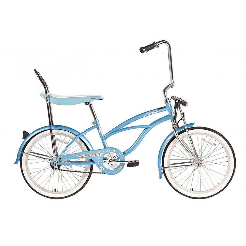Girls Micargi Hero 20-Inch Tire Beach Cruiser Bike -8714
