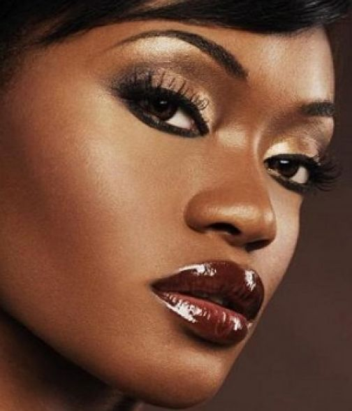 burgundy lipstick | Playing with paint | Pinterest | Models ...