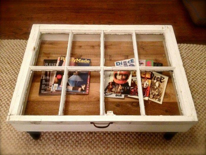 30 Deko Ideen Und Einrichtungsbeispiele, Wie Sie Die Alten Fenster Wieder  Verwenden