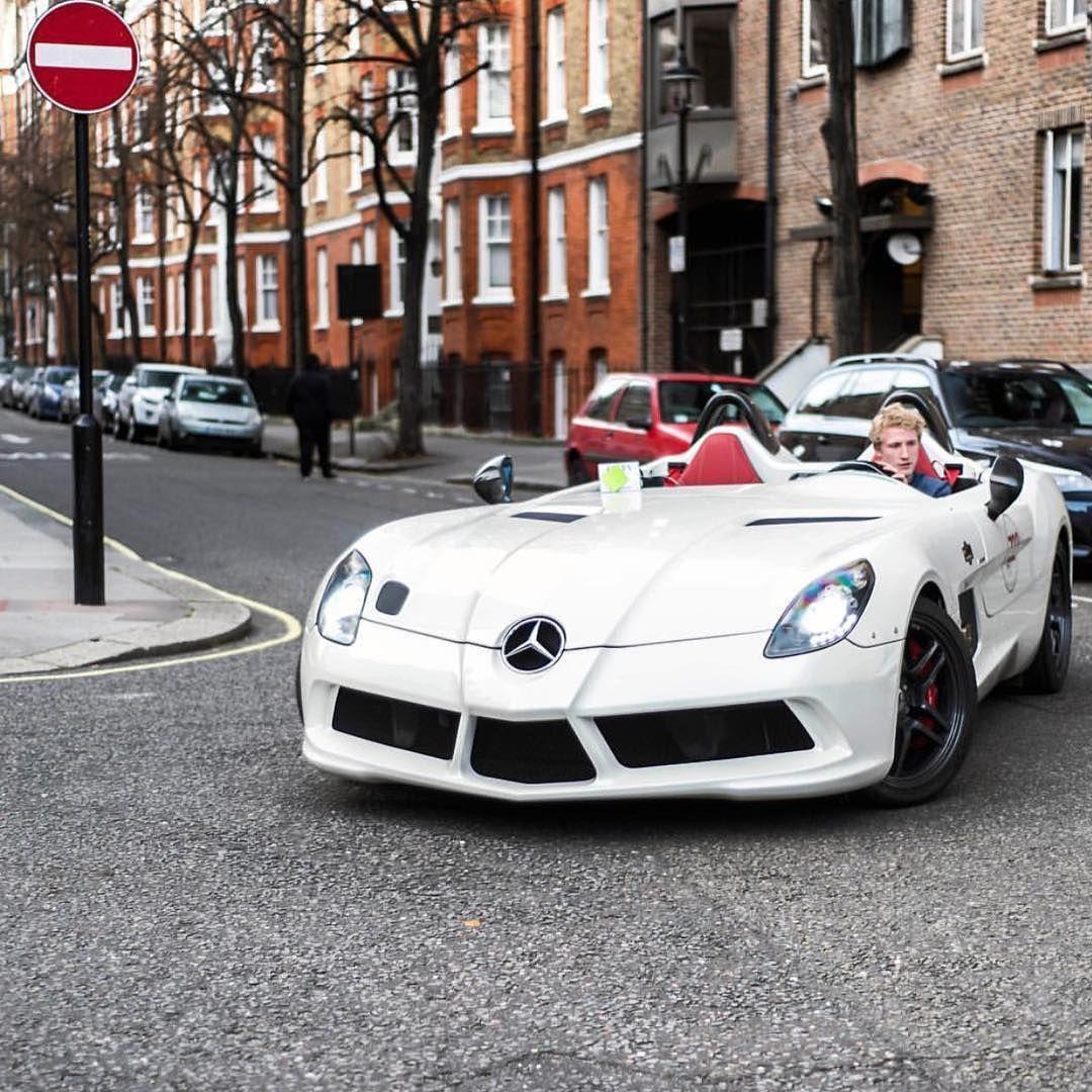 "Mercedes McLaren SLR ""Stirling Moss"""