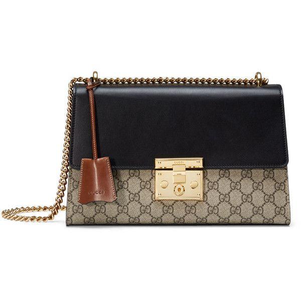 13bceb0b67a Gucci Linea C GG Supreme Lock Shoulder Bag ( 1
