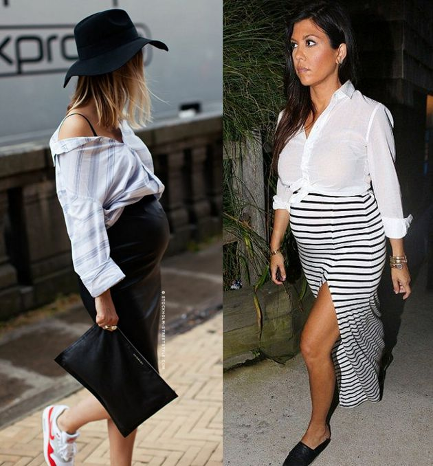 Stylish outfits for pregnant women - Style Advisor | Preggy outfit ...