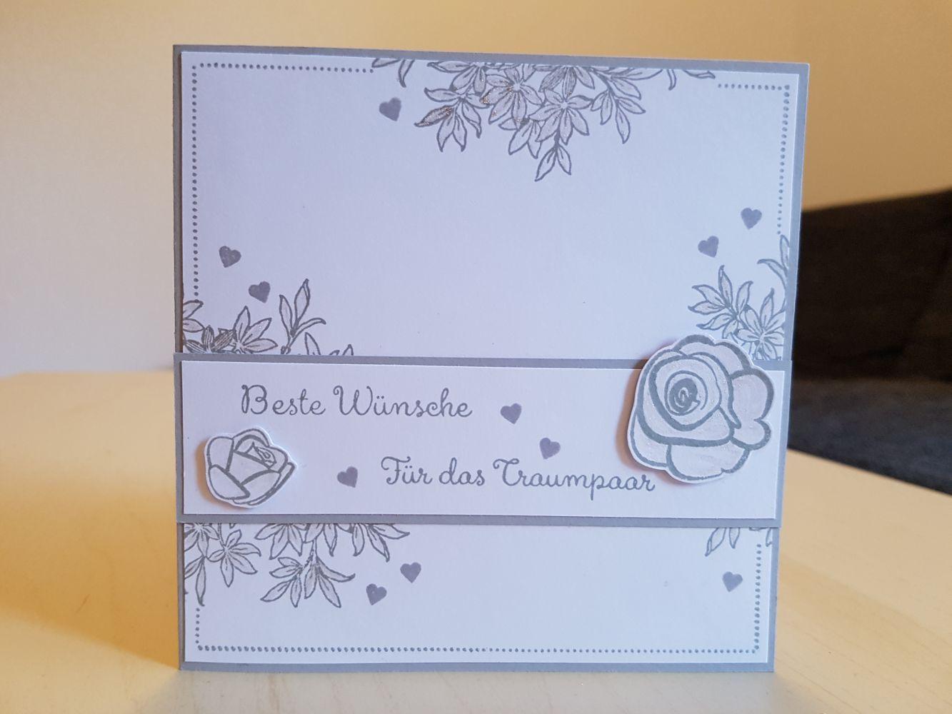 Karte Hochzeit Stampin Up Segensfeste Für Besondere
