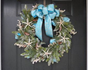 Nautical Christmas Wreath.Pin On Creative Wreaths