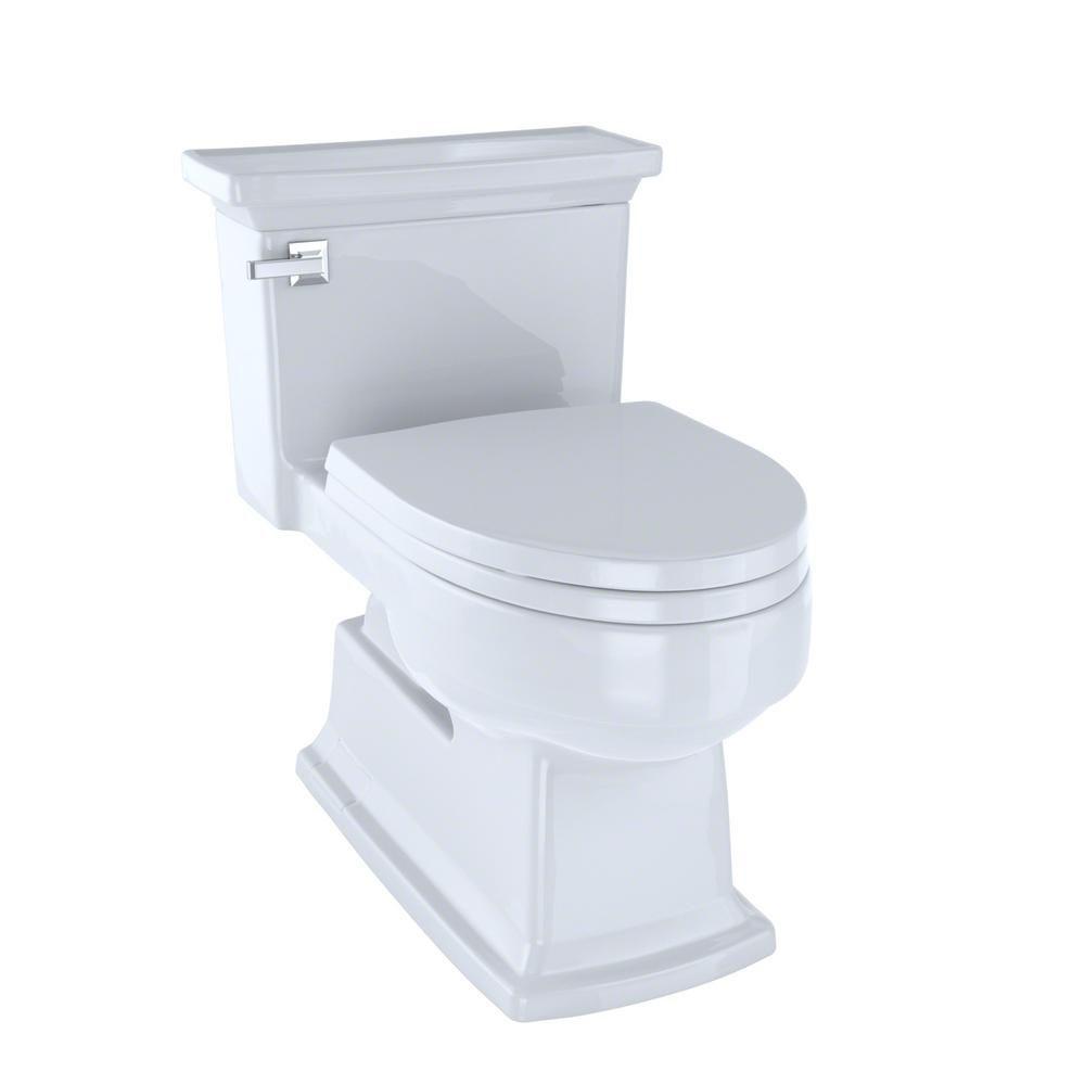 TOTO Eco Lloyd 1-Piece 1.28 GPF Single Flush Elongated Toilet in ...