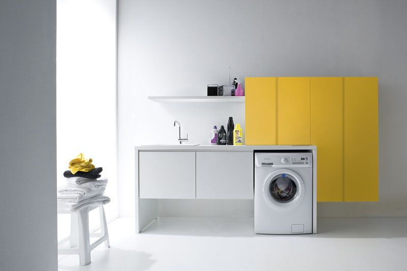Arredamento bagno lavanderia by birex. arredamento birex