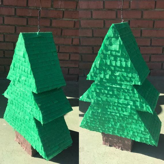 Pine Tree Pinata / Lumberjack Pinata / Christmas Tree