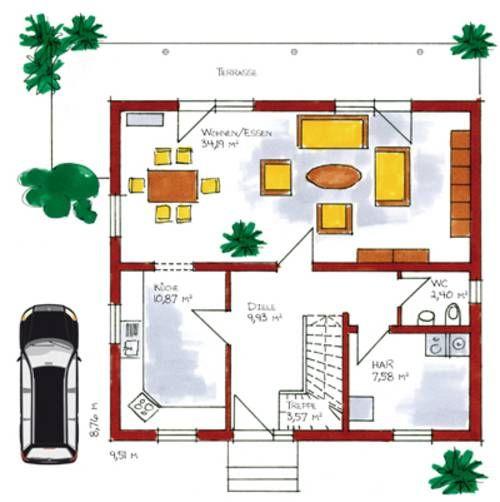 einfamilienhaus grundrisse von 120 150 qm grundriss pinterest grundrisse. Black Bedroom Furniture Sets. Home Design Ideas
