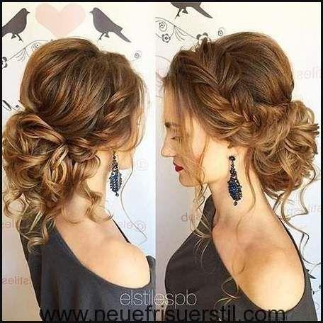23 Lange Lockige Updo Frisuren Hochzeits Haar Modelle Einfache Frisuren Hair Lengths Medium Length Hair Styles Hair Styles