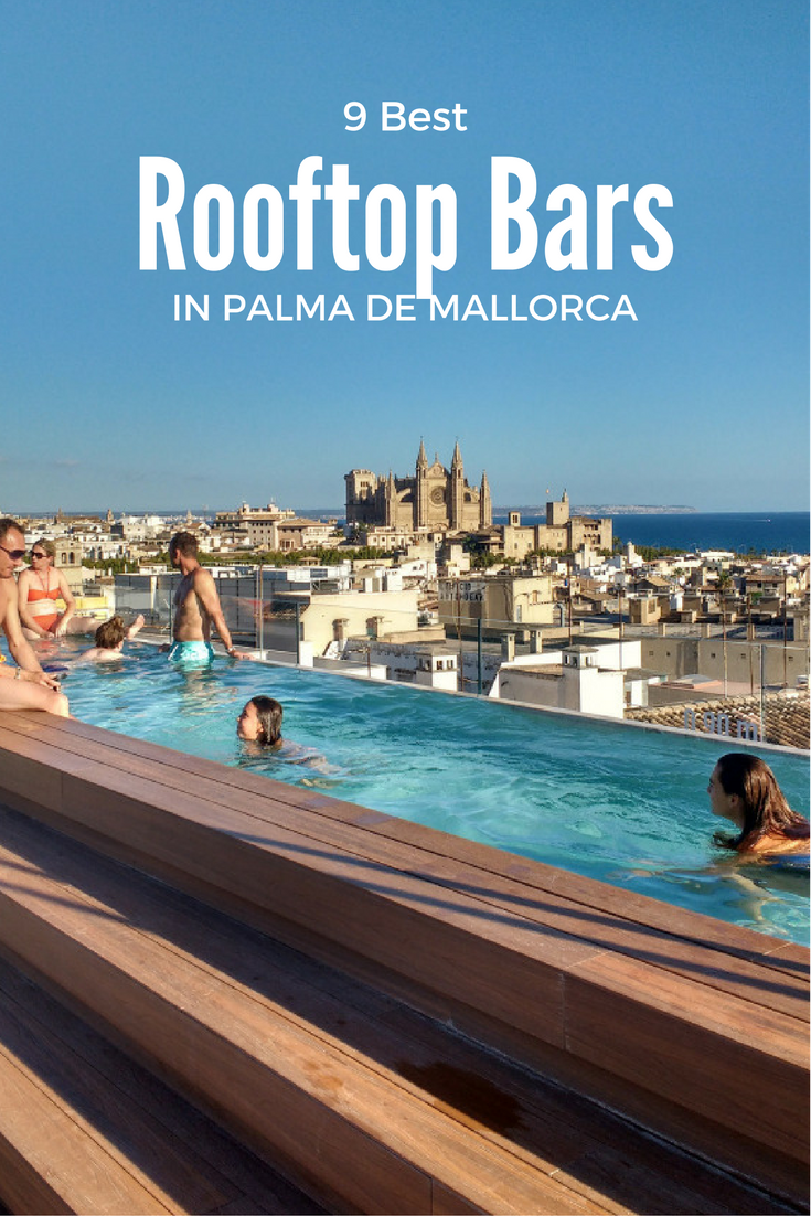 Best rooftop bars in Palma de Mallorca Spain travel