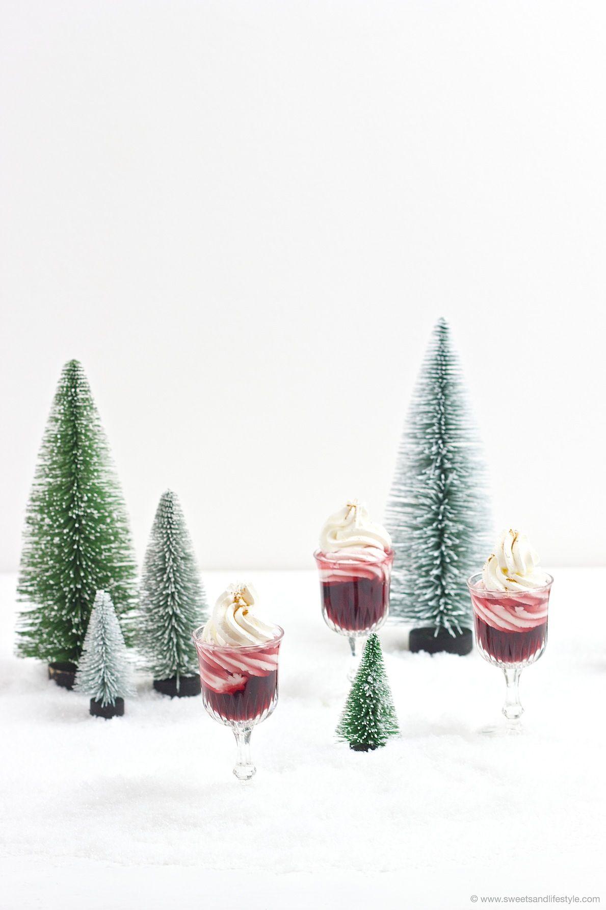 Schneewittchen Rezept Rotweinlikör mit Schlagobershaube