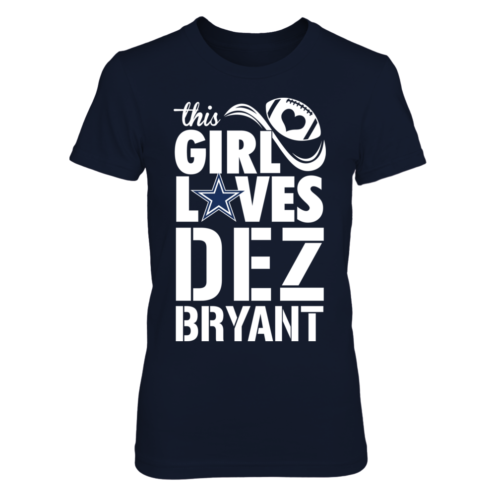 95d59bc37e3 Dez Bryant Official Apparel - this licensed gear is the perfect clothing  for fans. Makes a fun gift! Available online via Dallas Cowboys Gear Co.