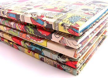 decoupage with comics