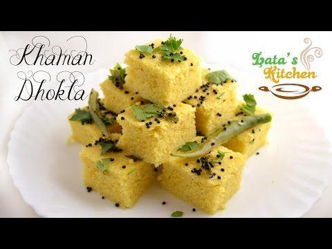 Khaman dhokla recipe gujarati snack recipe video in hindi with khaman dhokla recipe gujarati snack recipe video in hindi with english subtitles latas kichen forumfinder Image collections