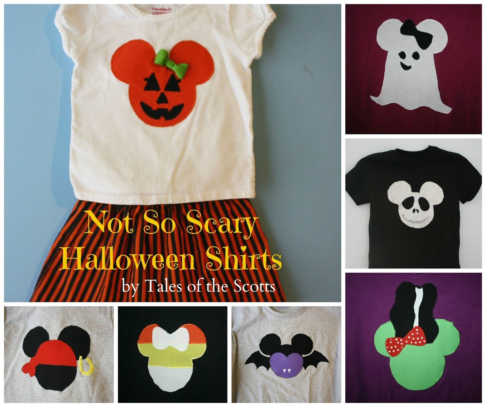 Disney Halloween Shirt Ideas.Tales Of The Scotts Not So Scary Halloween Shirts
