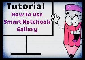 Create fun smart board activities using the smart notebook gallery features.