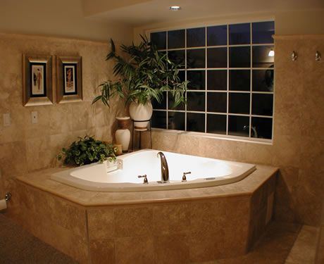 Ideas For Bathroom Renovation Pictures We Have A Corner Tub