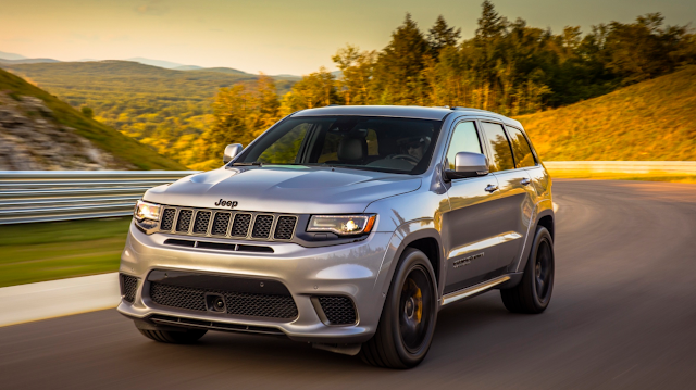 The 2018 Jeep Grand Cherokee Trackhawk First Drive Jeep Grand Cherokee Jeep Jeep Cars