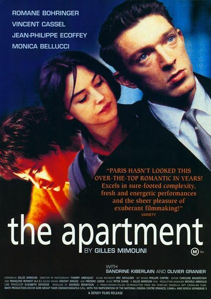 L Artement 1996 The Apartment French Is A Film Directed By Gilles Mimouni And Starring Vincent Cassel Monica Bellucci