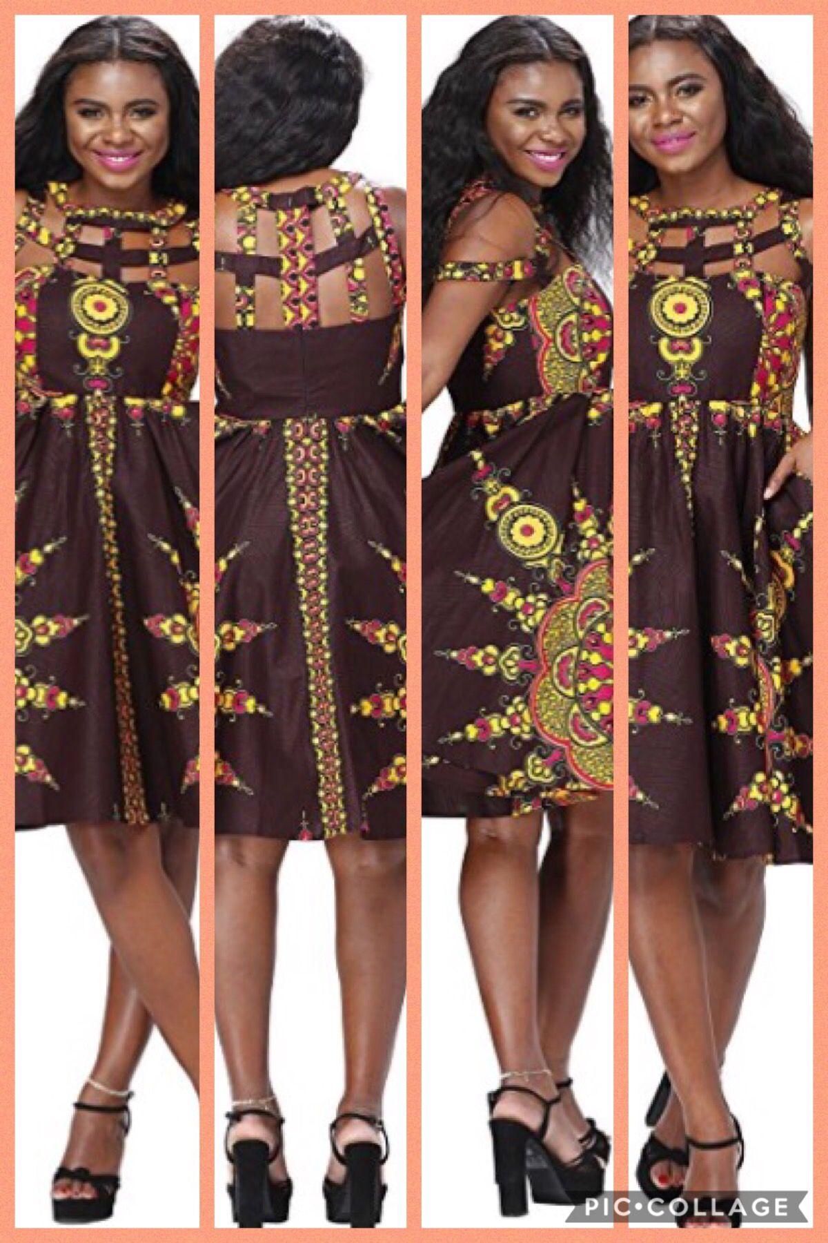 2e22dadbd5e69 African Dress Dashiki Clothing Dresses amazon affiliate | Ankara mix ...