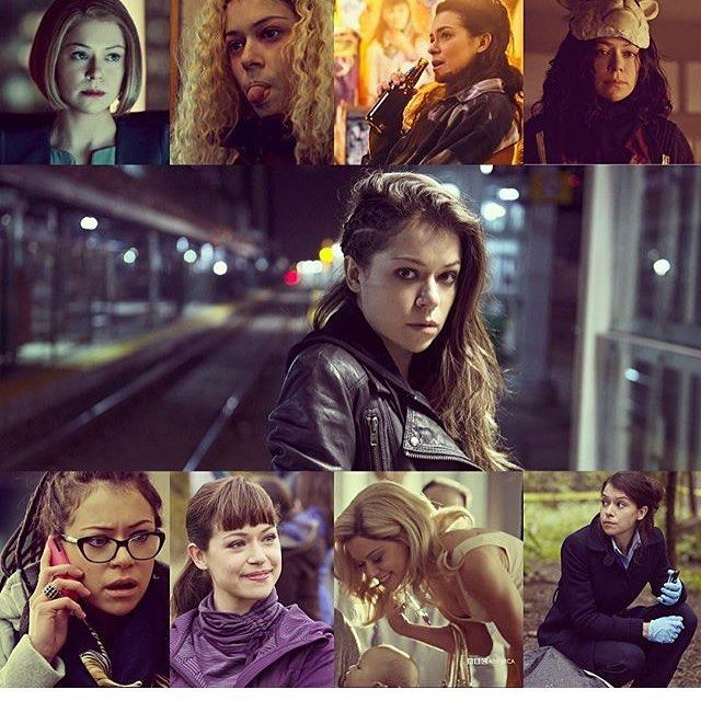 347 Likes 5 Comments Orphan Black You Dont Own Us On Instagram Your Not An Orphan Anymore Sarah Veerasuominen Alisonhend Orphan Black Filmes Fotos