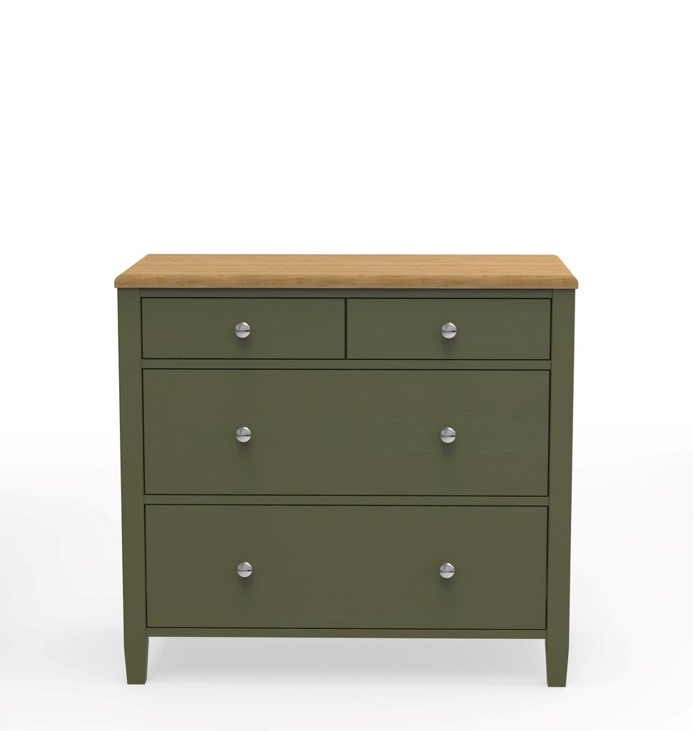Foresthills Bedroom Large2: Bedroom Inspiration: Our On-trend Forest Green Large Chest