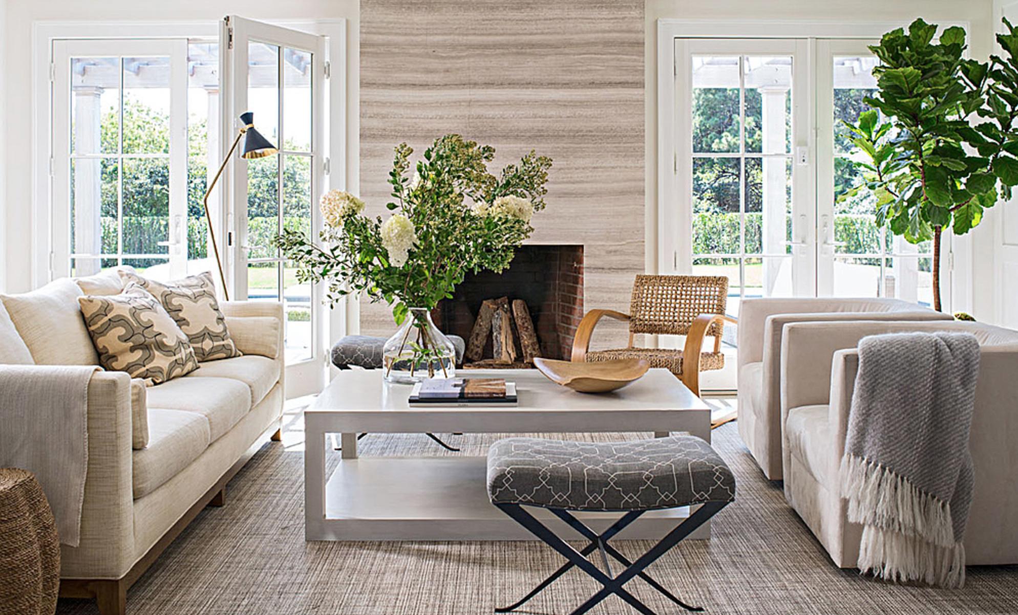 California casual   Beach house living room, Coastal style ...