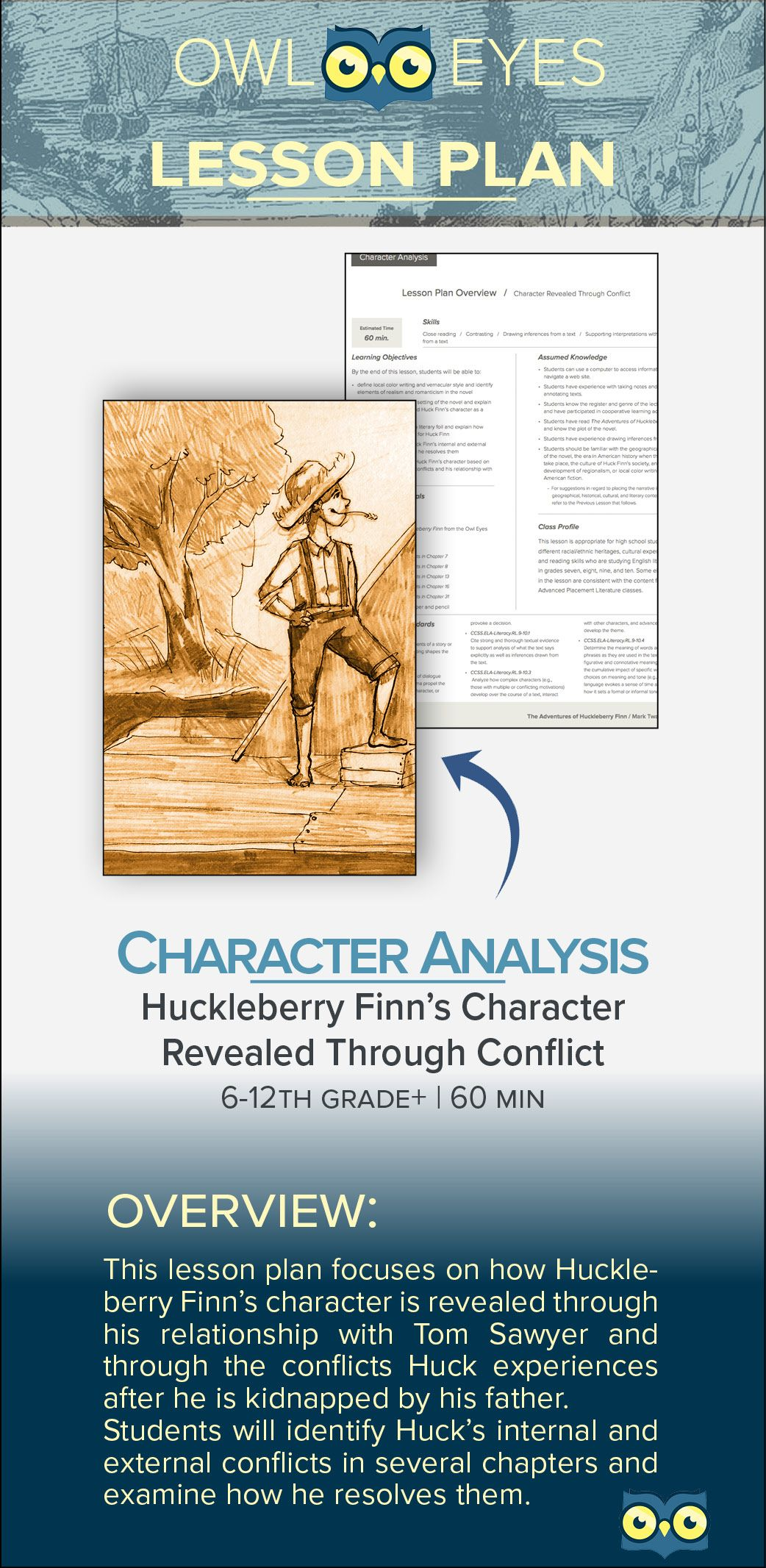 Download Our Newest Lesson Plan Characterysis Of