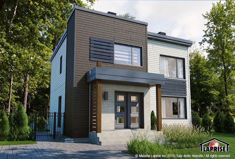 Best Zen Contemporary Lap0654 V1 Maison Laprise 400 x 300