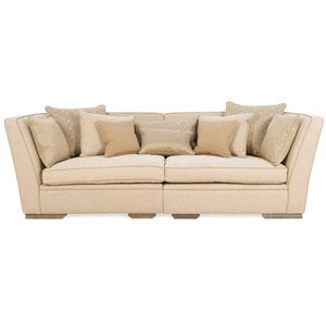 Superieur Aliso High Arm Large Split Sofa