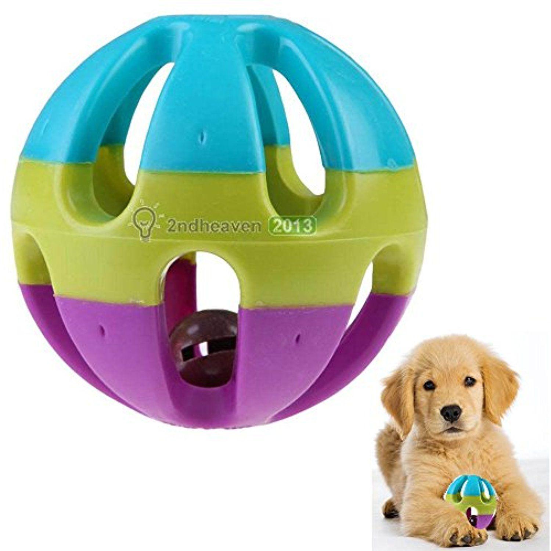 Persuper 3 6 Inch Durable Pet Dog Balls Toys Rubber Indestructible