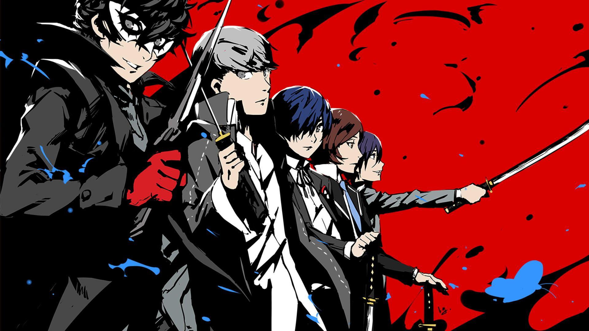 Persona Anime Joker Persona Persona 2 Persona 3 Persona 4 Persona 5 Video Game Yu Narukami 1080p Wallpape Persona Crossover Persona 5 Persona 4 Wallpaper
